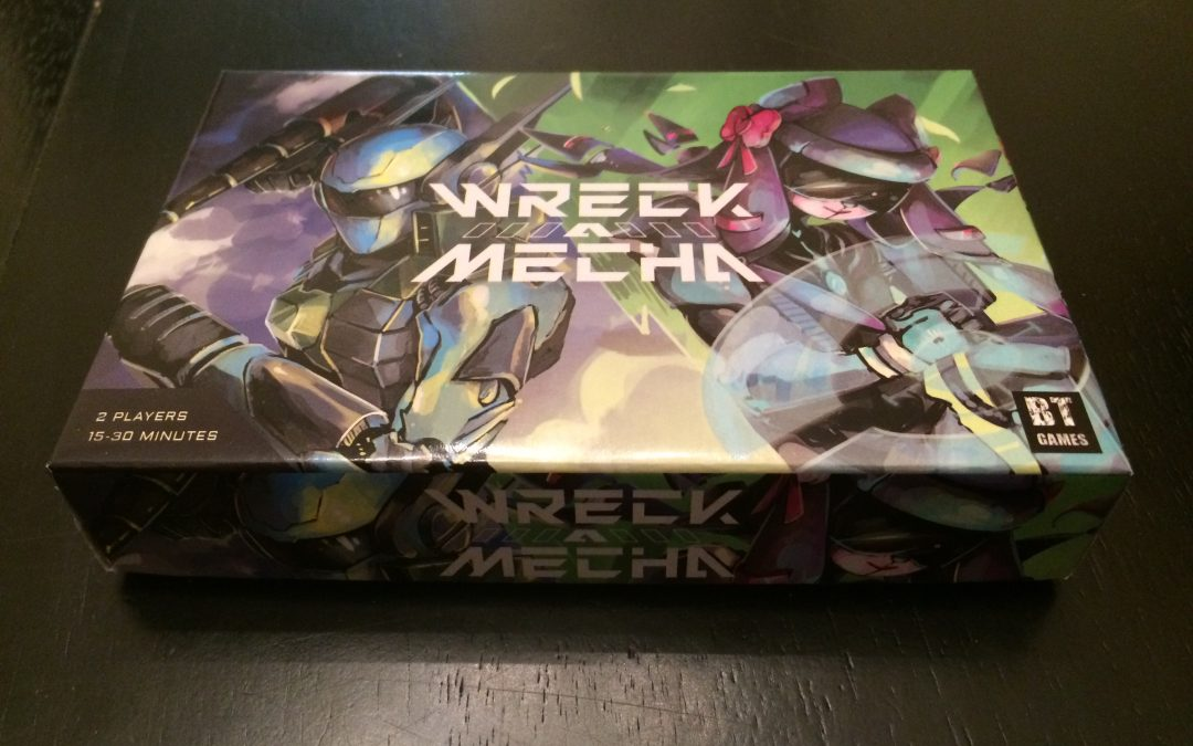 Wreck-A-Mecha Launching on Kickstarter June 2nd