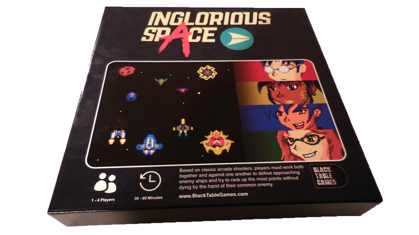 Inglorious Space Blasts Off To Backers!