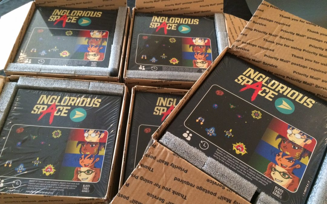 Inglorious Space Is Out Now!