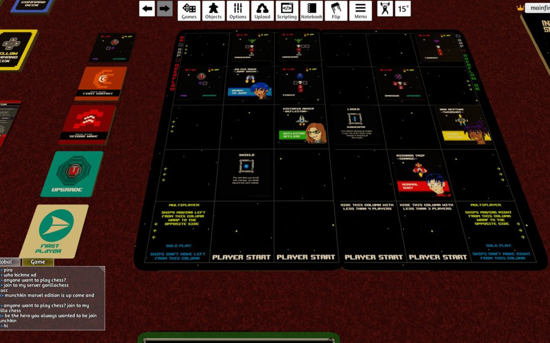 Try Inglorious Space for Free Using Tabletop Simulator